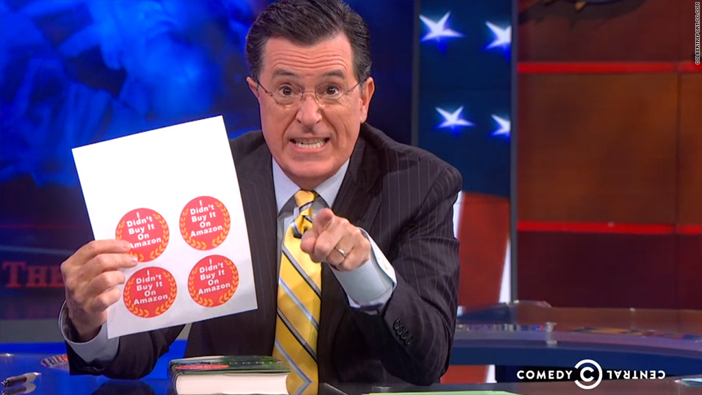 colbert amazon stickers