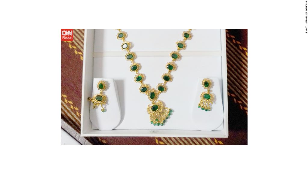 biggest splurge necklace