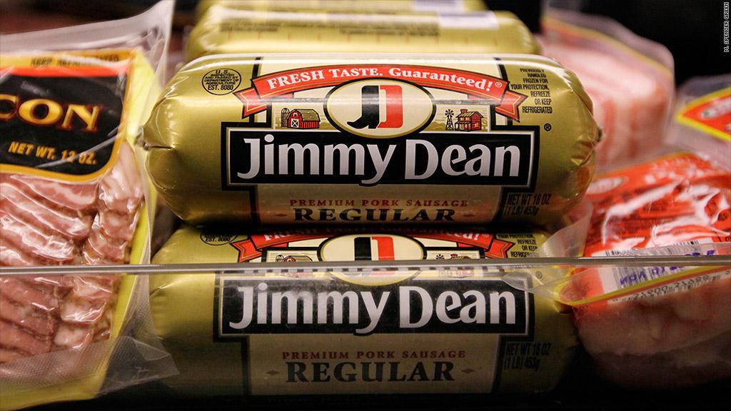 tyson bid hillshire jimmy dean