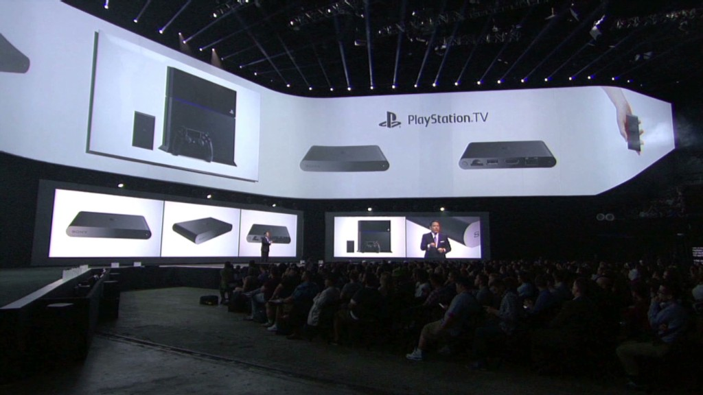 Sony's new gaming products in :90