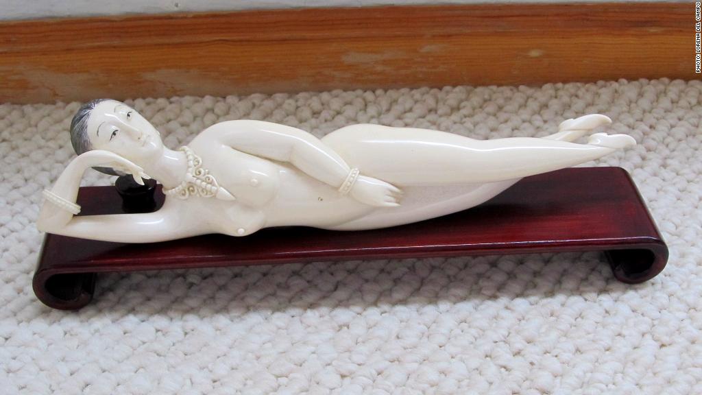 Ivory Chinese doll - CNNMoney readers reveal #mybiggestsplurge
