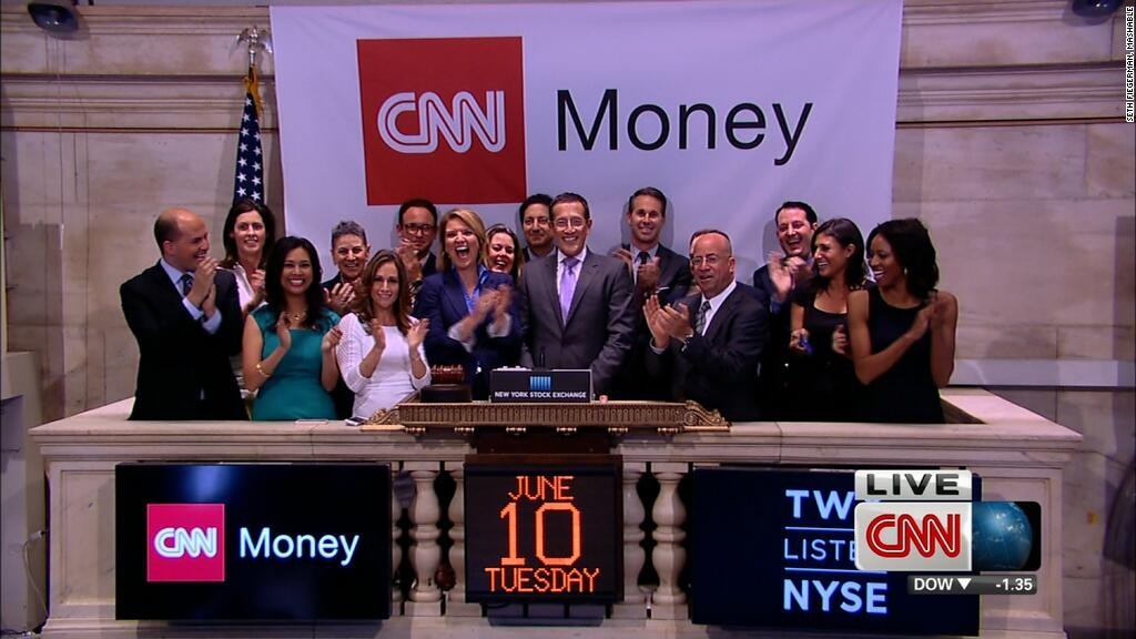 CNNMoney NYSE bell