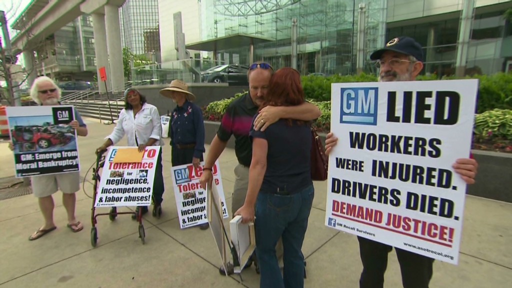 Families of dead protest GM meeting
