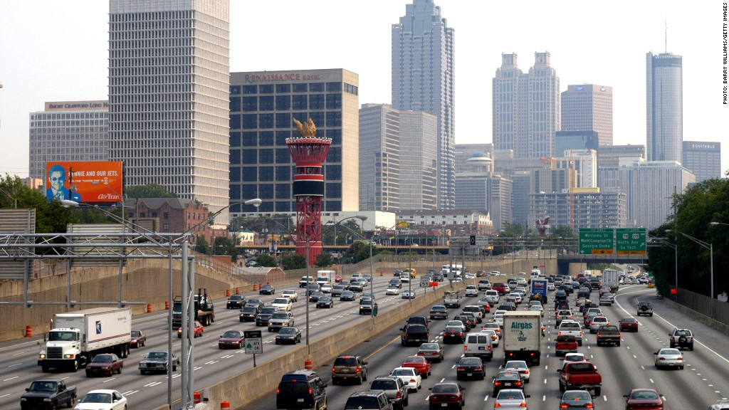stressed cities