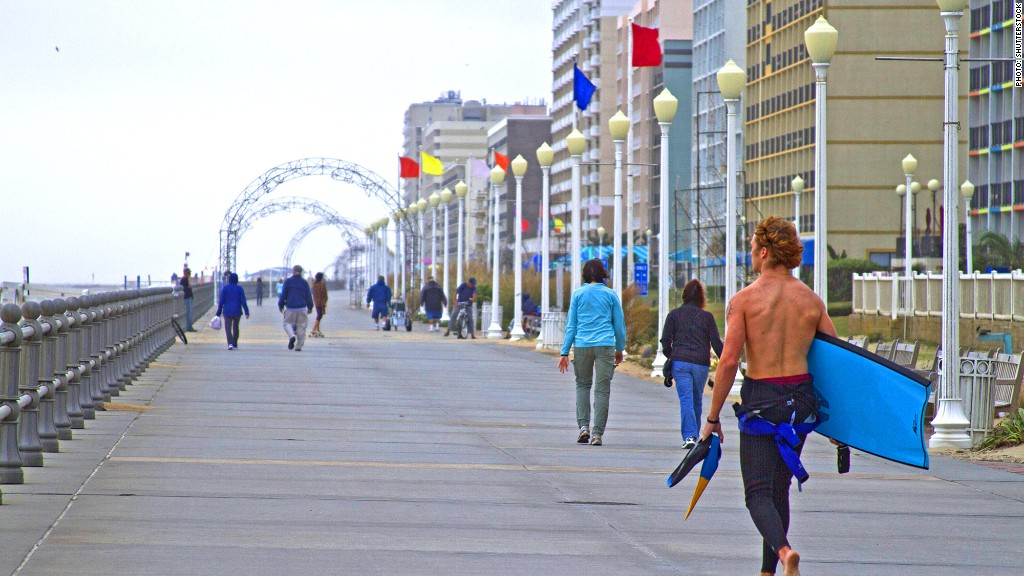Virginia Beach Va 30 Of 55 Stressed Cities