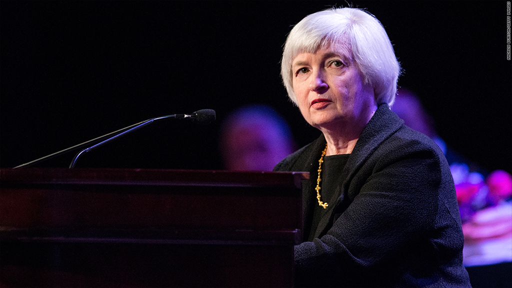 janet yellen stocks
