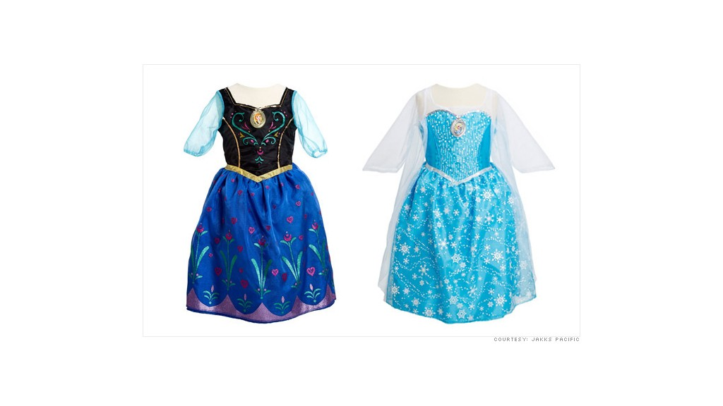 frozen product light up dress