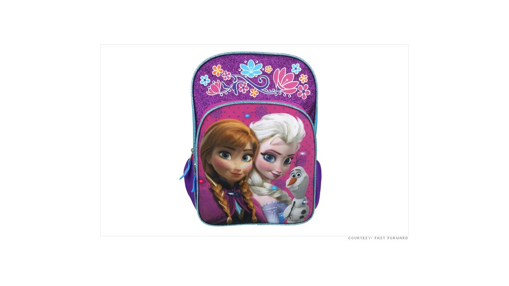 frozen product backpack