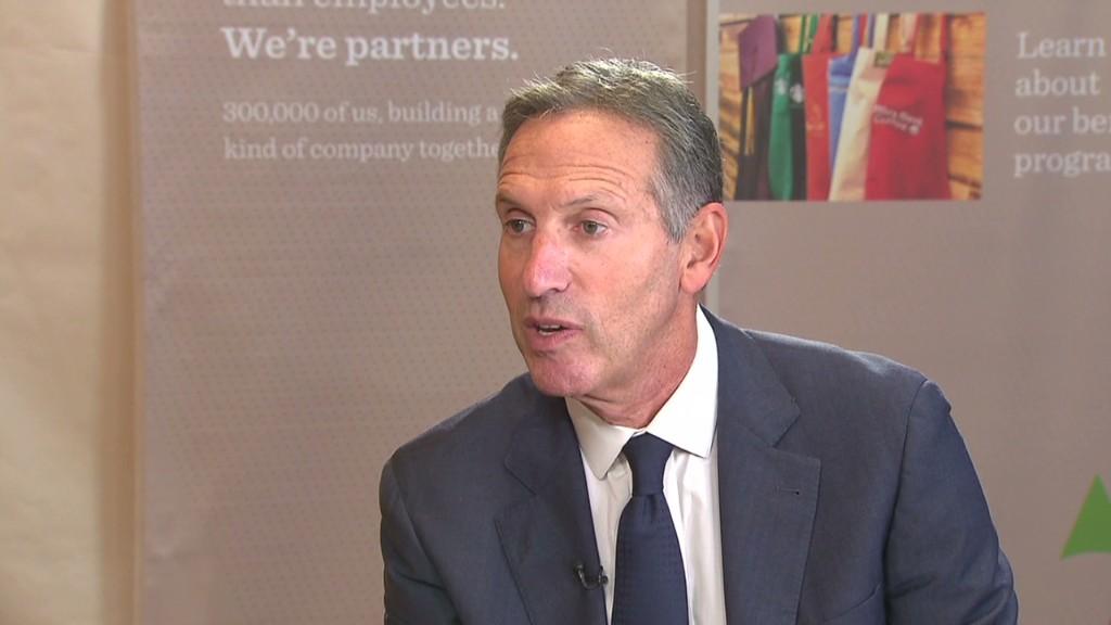 Starbucks CEO: $15 min. wage may kill jobs