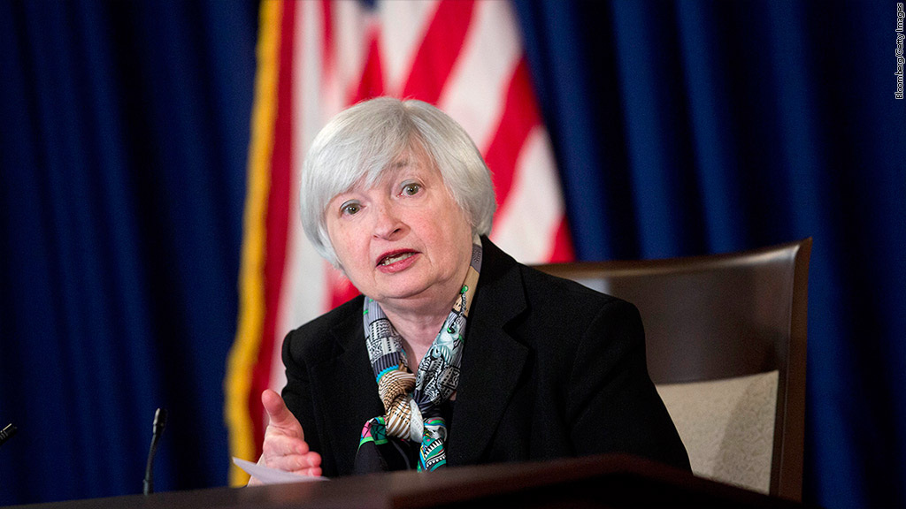 janet yellen march