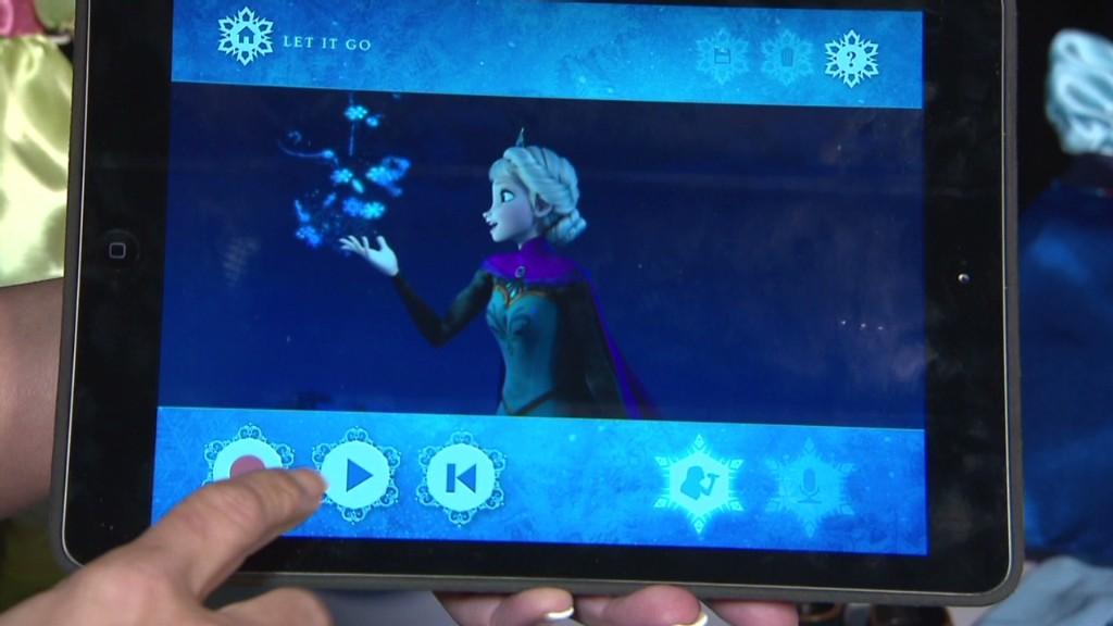 A 'Frozen' karaoke app?!