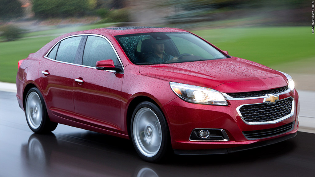 Midsize car Chevrolet Malibu - Top quality new cars - J.D. Power ...