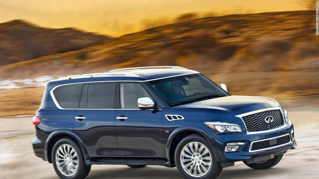 Large premium SUV Infiniti QX80 - Top quality new cars - J ...