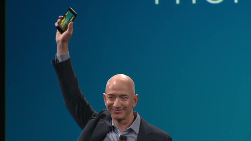 See Amazon's new 3-D Fire Phone