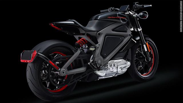 Harley-Davidson unveils its first electric hog
