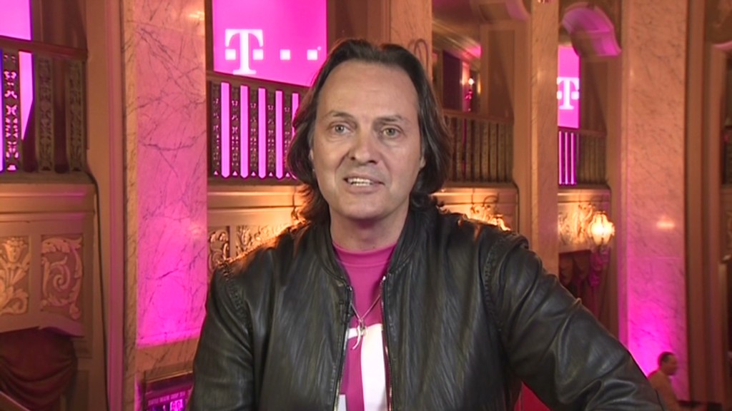 T-Mobile CEO on music, Amazon and Sprint