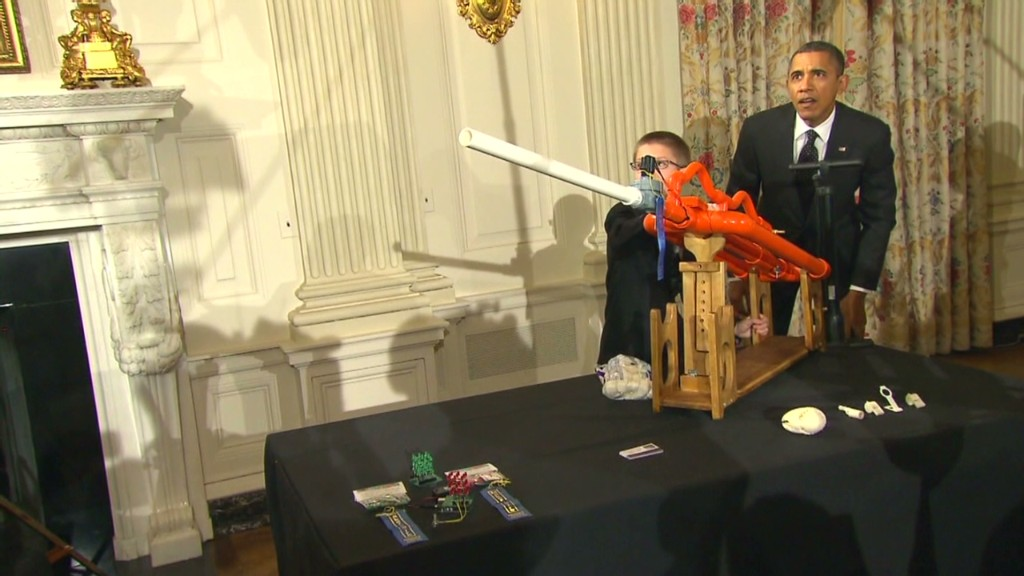 Techies descend on the White House