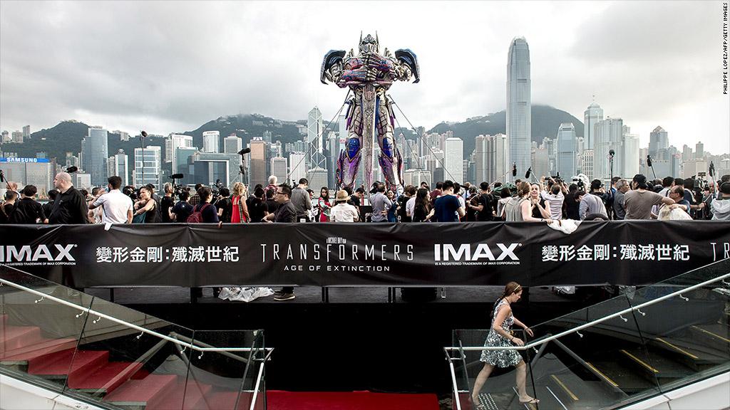 transformers premiere