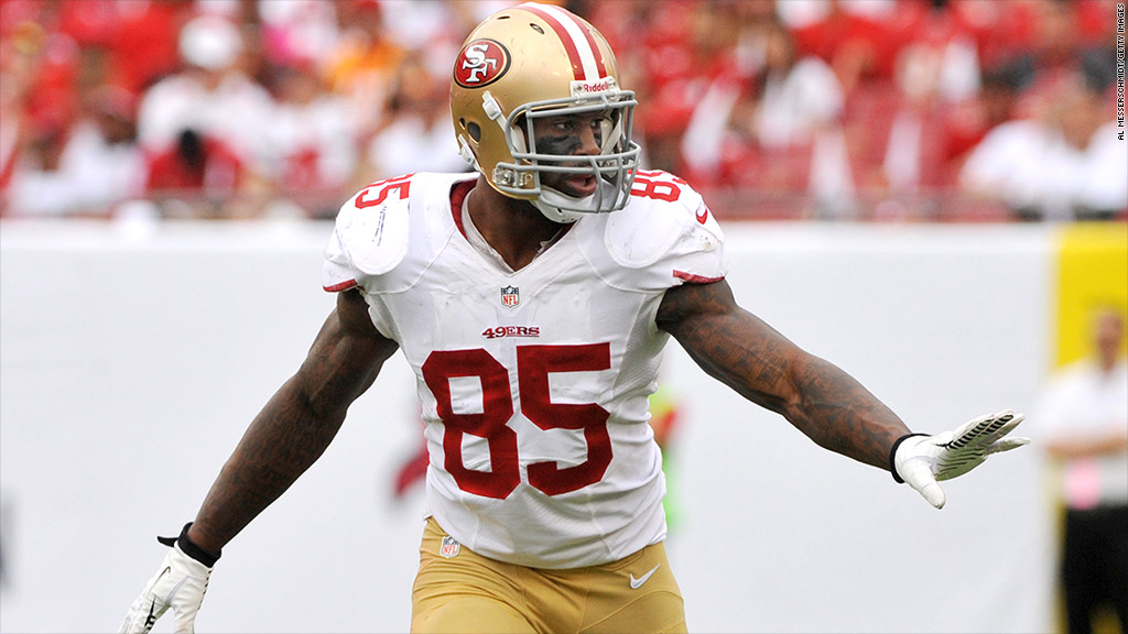 Should Sports Fans Short Vernon Davis Stock