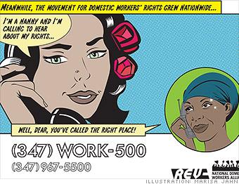 apps social change domestic worker
