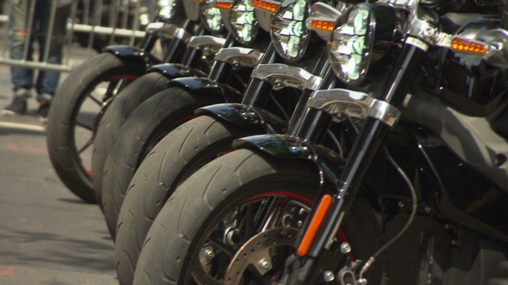 Hear the new electric Harley-Davidson