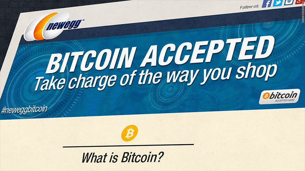 newegg bitcoin