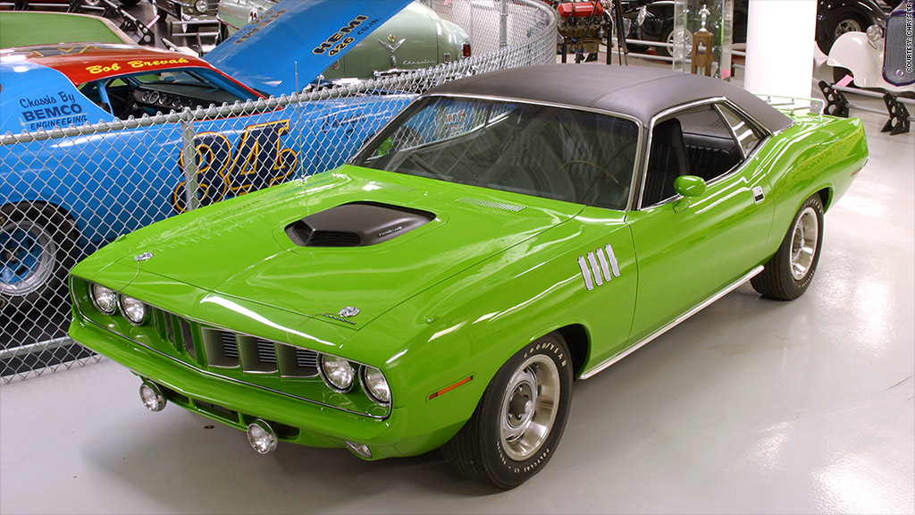 1971 Plymouth Hemi \'Cuda - 21 most iconic American cars - CNNMoney