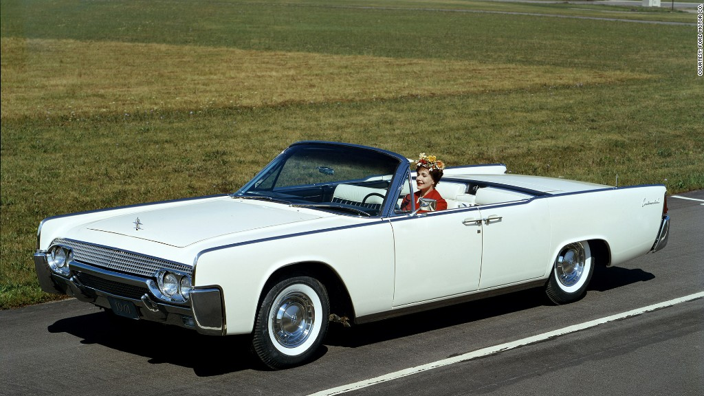 1961 Lincoln Continental 21 Most Iconic American Cars Cnnmoney
