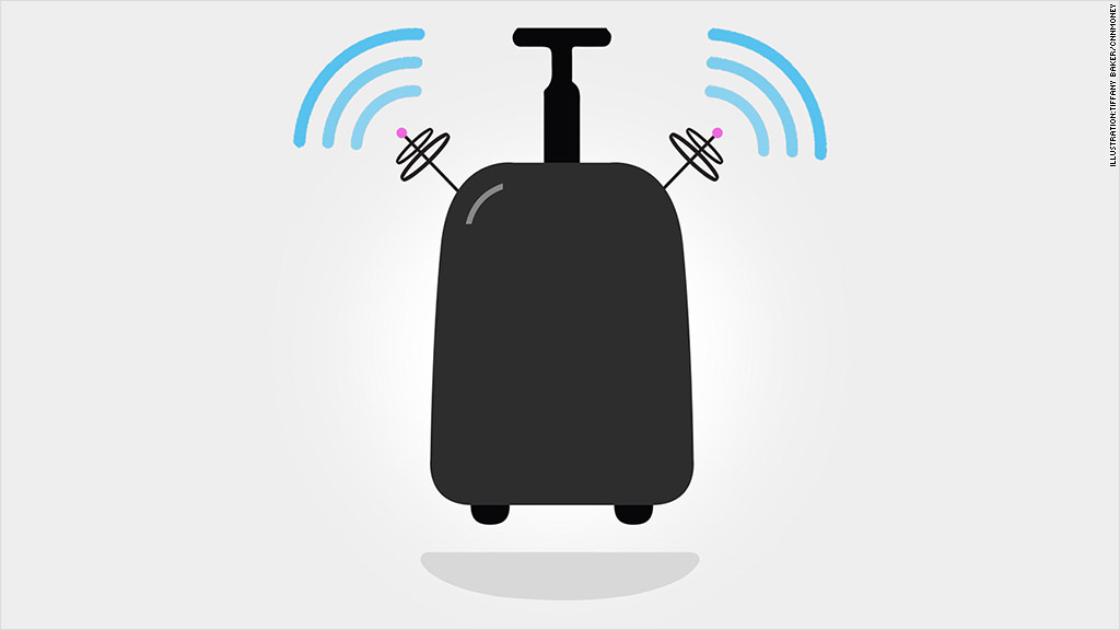 'Smart' luggage will text you when it gets lost