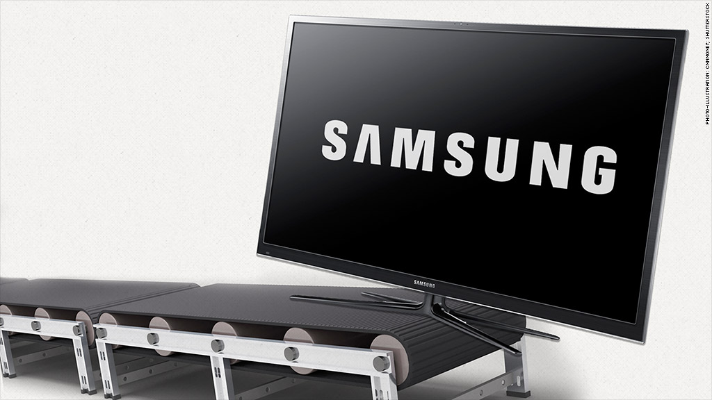 samsung plasma tv production