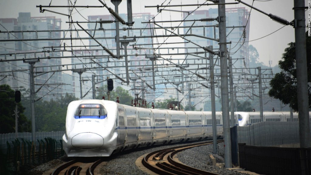 china high speed rail 1