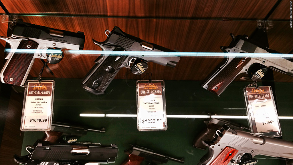 Gun Sales Fall As Gun Control Stalls