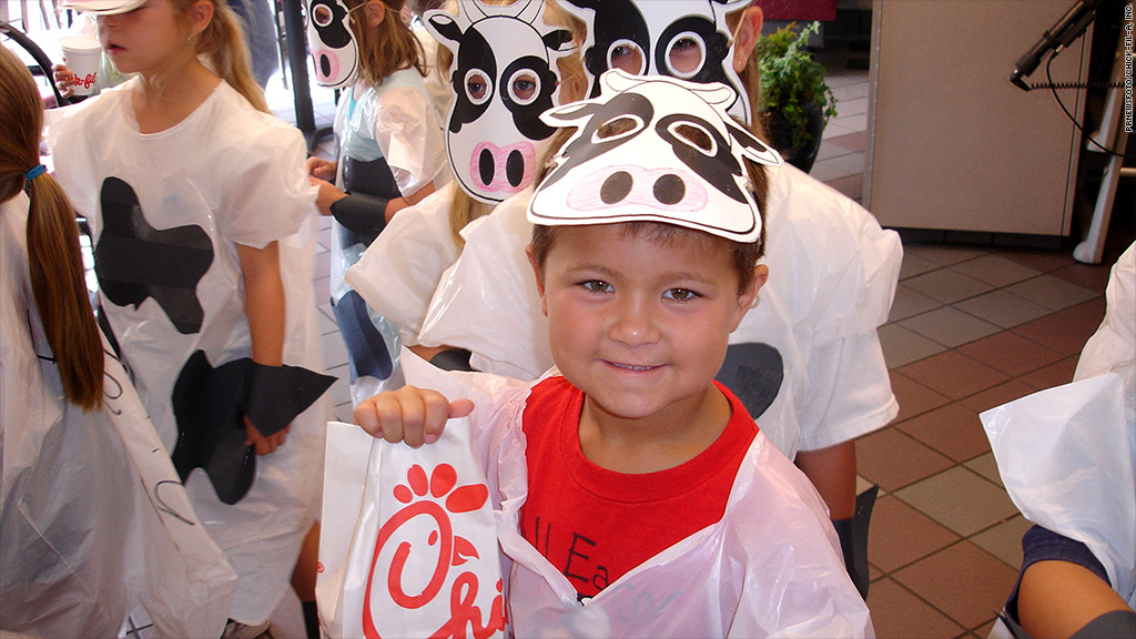 chick fil a cow appreciation day