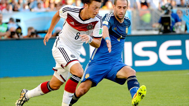 daf199a7fee Germany was wearing Adidas when it beat Argentina to win the 2014 World Cup.