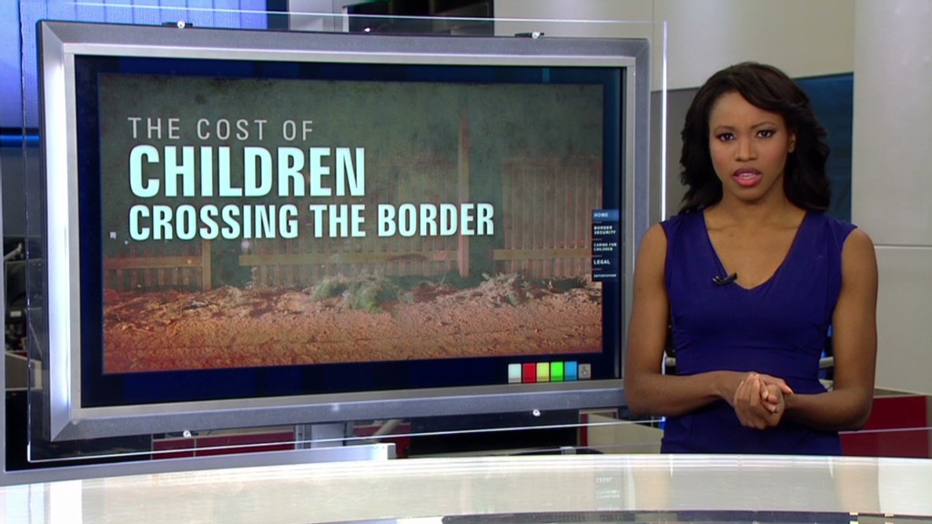 Cost of unaccompanied immigrant children