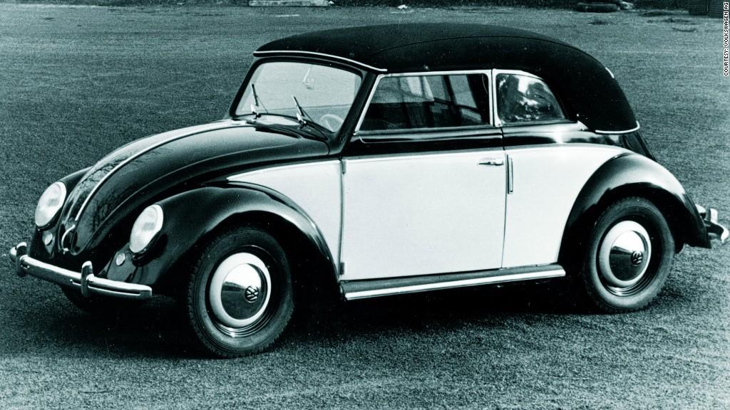 Convertible Craze History Of The Volkswagen Beetle