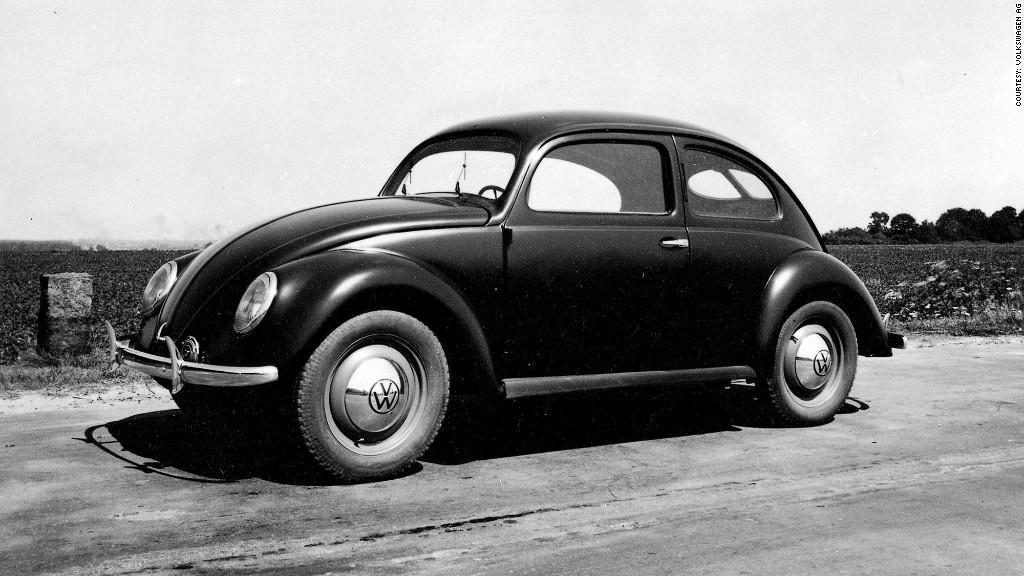 history of the volkswagen beetle