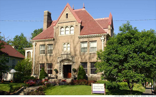 mansions omaha exterior