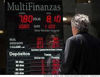 market scare emerging argentina