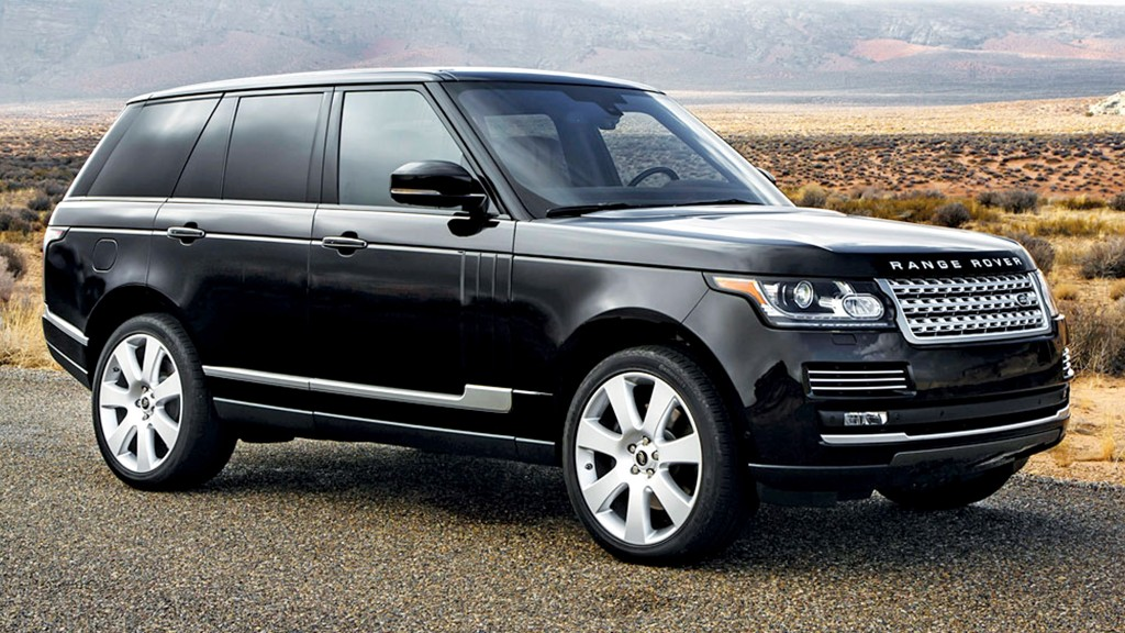 Large luxury SUV - Land Rover Range Rover - Best-d cars in ...