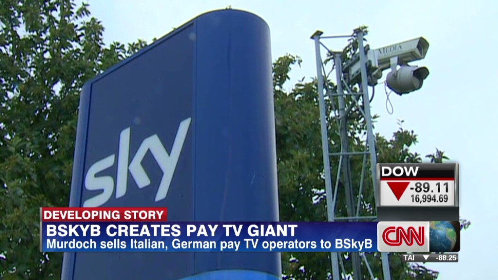 Murdoch BSkyB deal will free up some cash