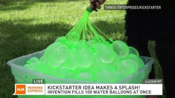 Water balloon lovers pledge $645,000 on Kickstarter