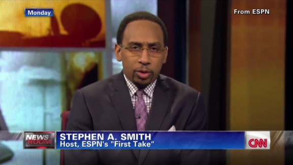 ESPN suspends Stephen A. Smith after domestic abuse remarks