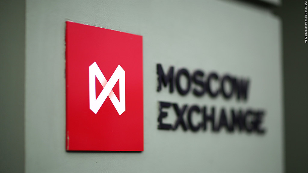 russian stock market halt