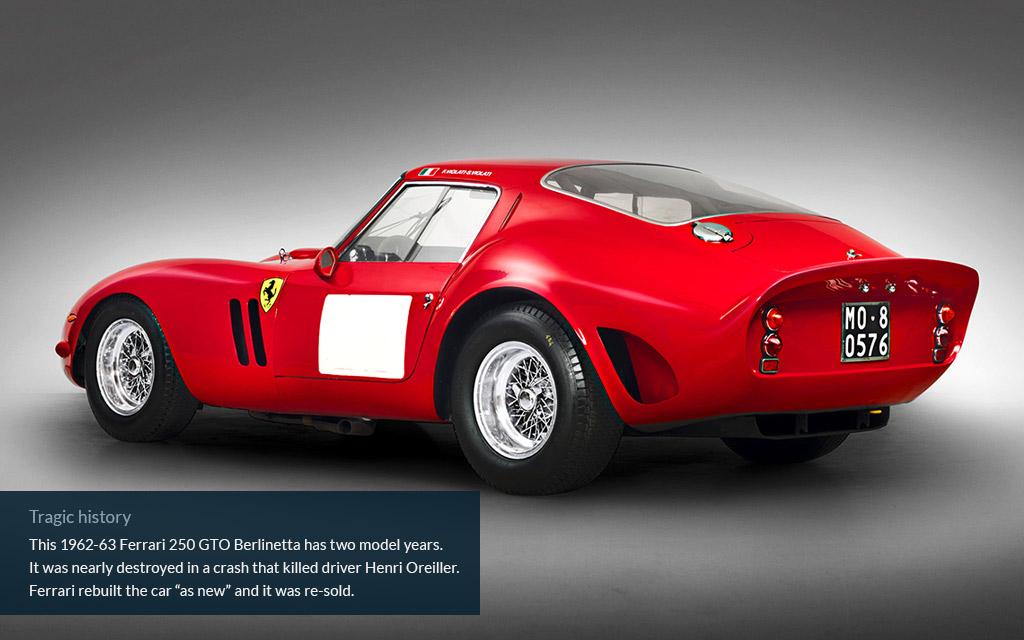 ferrari worlds most expensive car rear