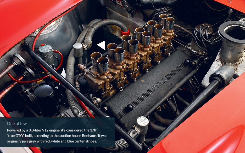 ferrari worlds most expensive car engine