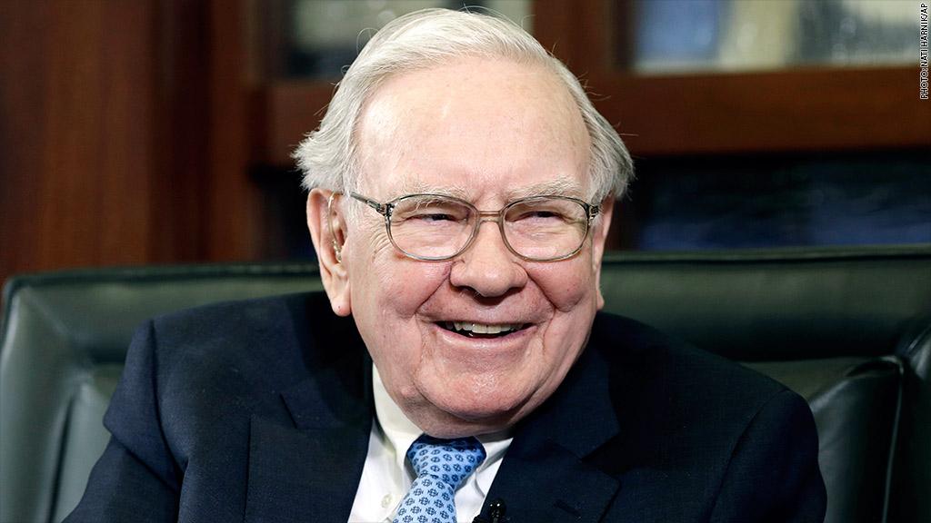 warren buffett earnings story