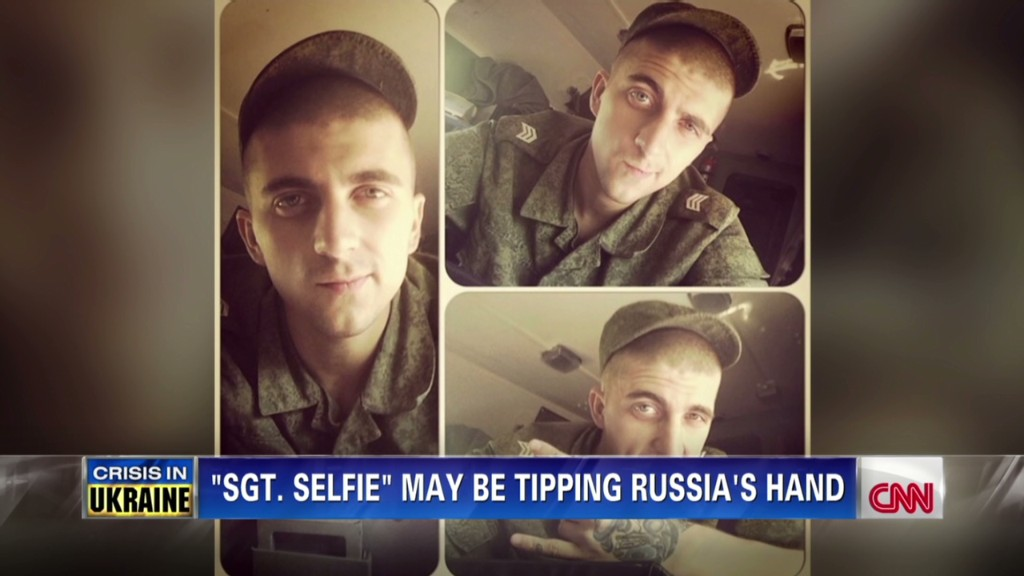 Russian soldier's selfies backfire