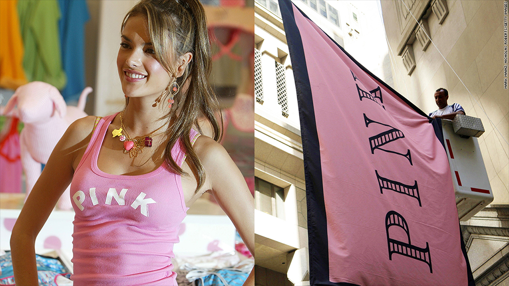 uk pink branding