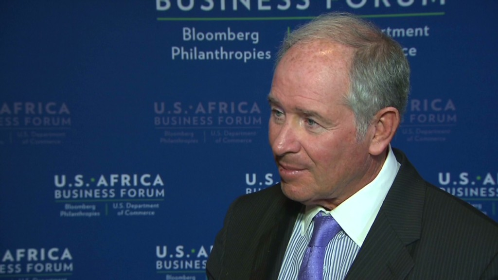 Blackstone CEO: Regulation making markets safer